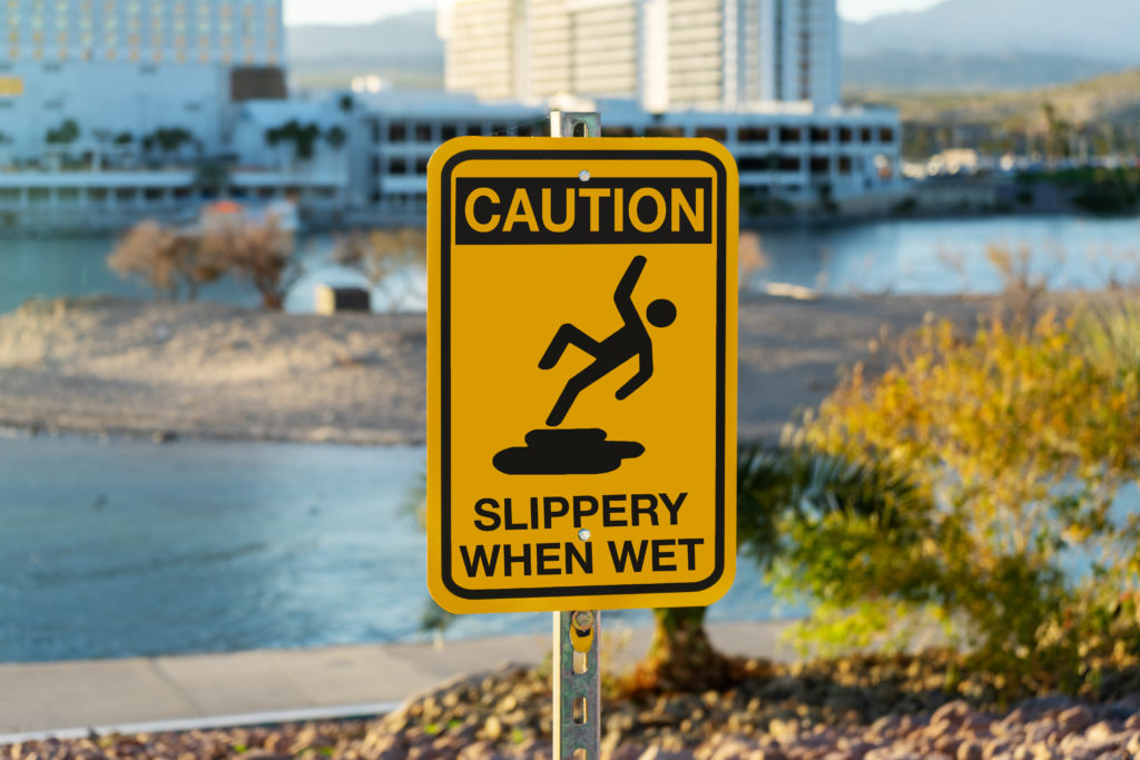 Common causes of marina accidents include missing or inadequate warning signs.